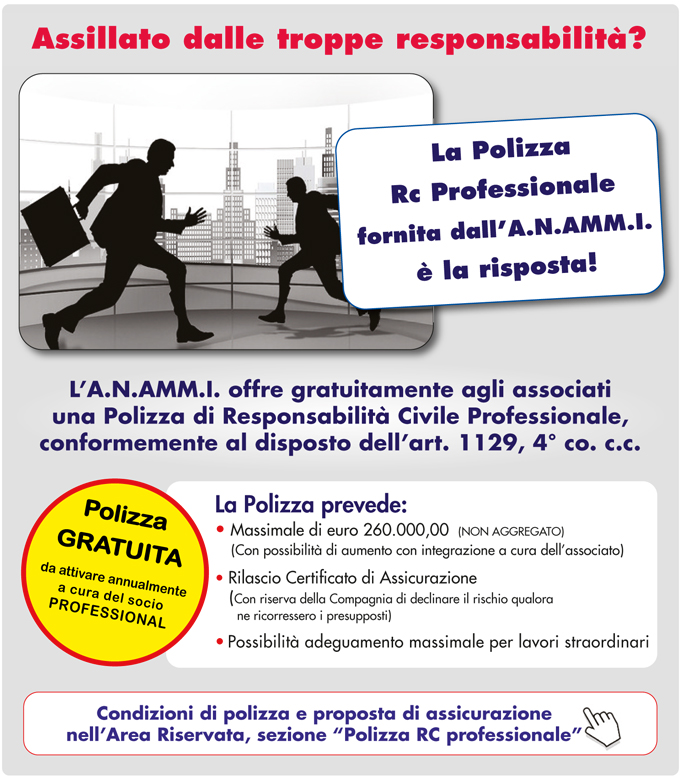 Polizza assicurativa A.N.AMM.I.